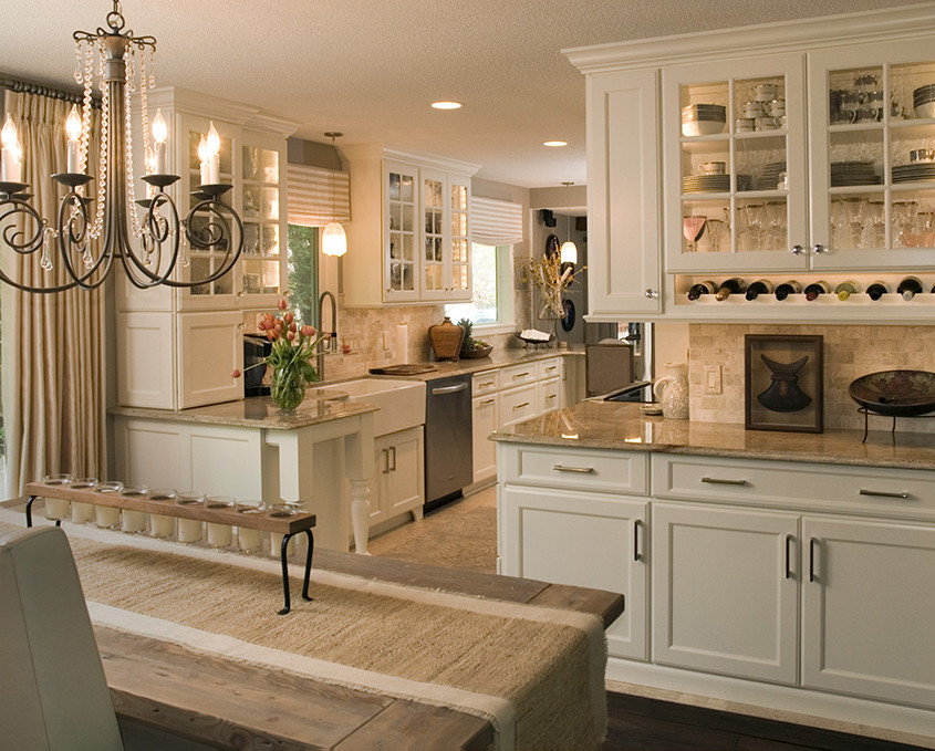 Transitional Kitchen Design Remodel