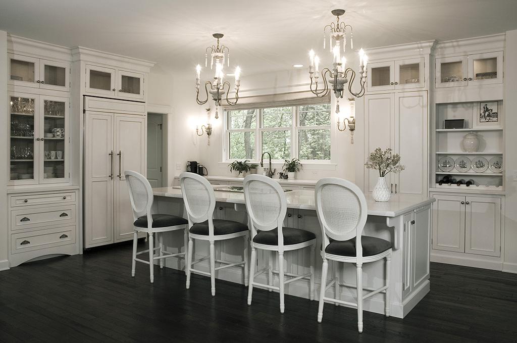 transitional kitchen design, kitchen remodel, white kitchen