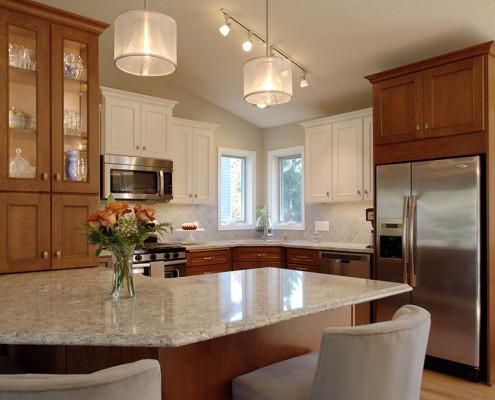 kitchen remodel, transitional design
