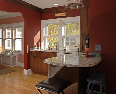 kitchen remodel, traditional design