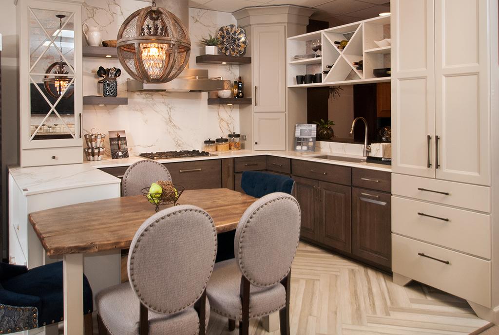 Kitchen remodel showroom New Brighton MN