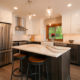 Transitional Kitchen Design with center island